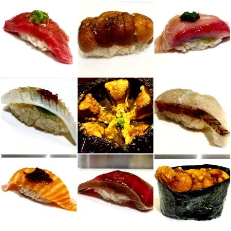 Omakase at Sushi Katsuei.
