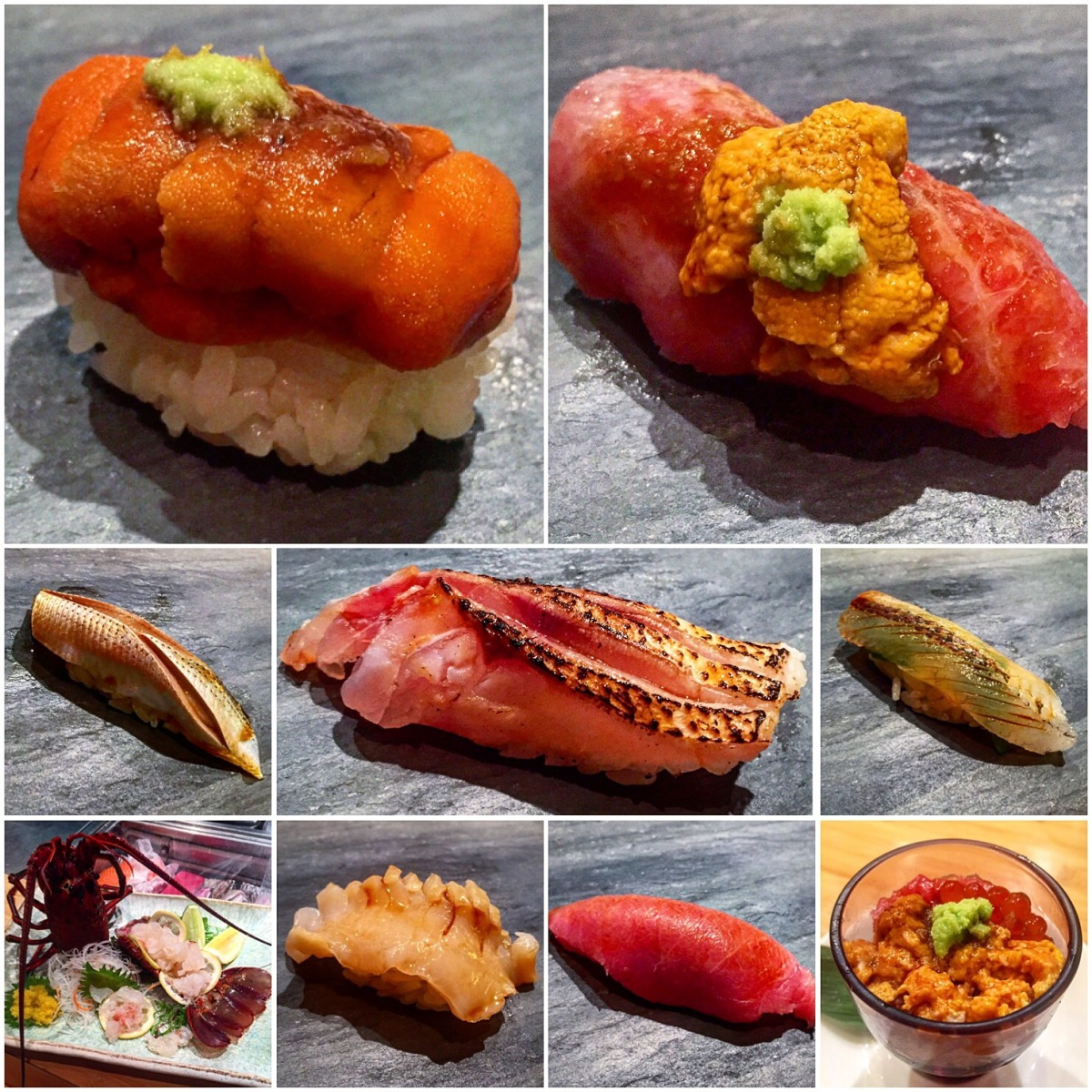 Jewel Bako (NYC): Live Lobster & Uni Galore