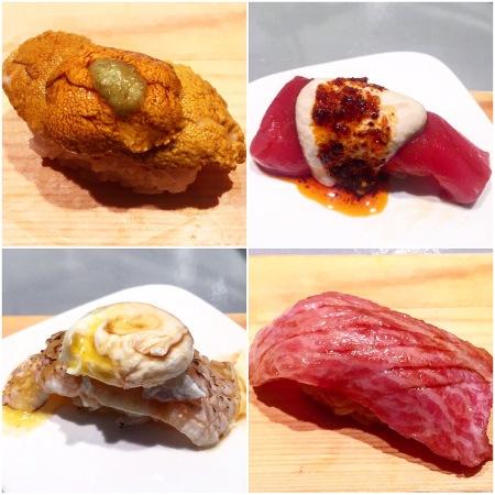 Sushi of Gari omakase.
